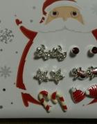 6 par kolczyków świątecznych Avon...
