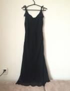 Czarna sukienka maxi XL...
