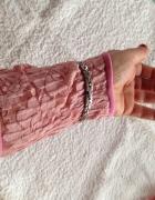 Rękawiczki na jeden palec długie wrzos