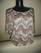 bluzka boho etno ciekawy wzory