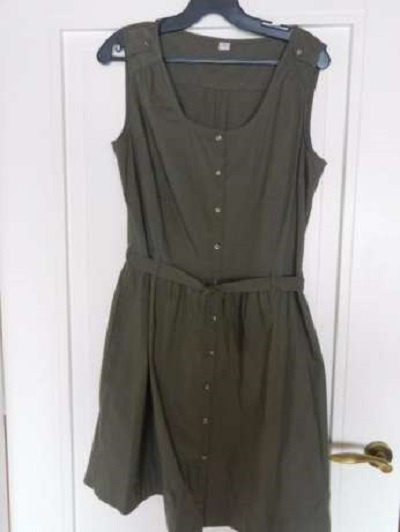 Sukienka khaki S Oliver...