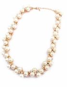 Naszyjnik perła złoty blogerki