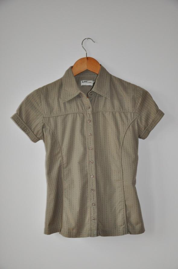 Koszule Koszula Lee zieleń 34