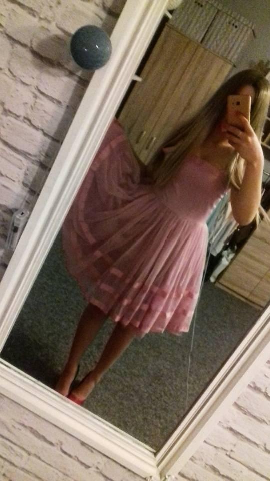 Suknia sukienka rozkloszowana tiulowa balowa sylwestrowa princess