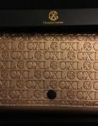 Christian Lacroix rose gold mała torebka na łańcuszku