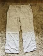 Beżowe spodnie szwedy XL