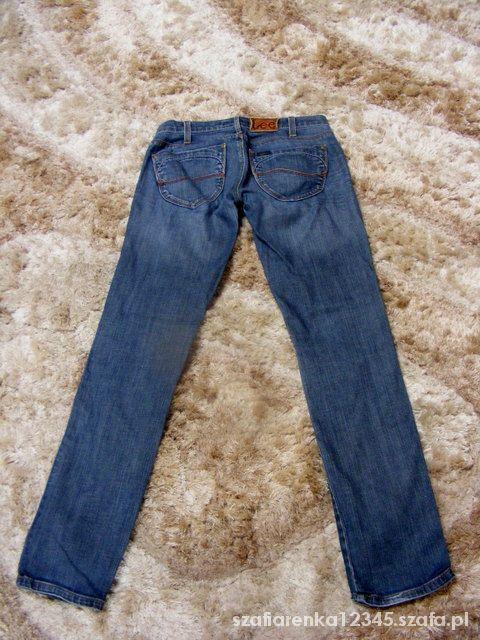 Jeansowe spodnie Lee...