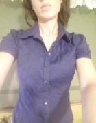 Koszula z krótkim rękawkiem 36 S