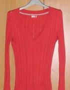 sweterek Old Navy czerwony