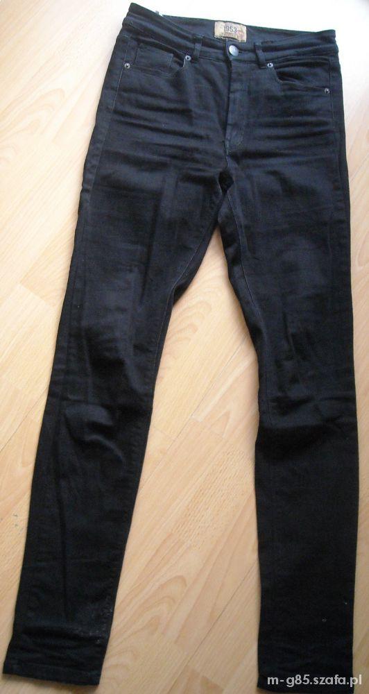 KAPPAHL czarne jeansy wyższy stan...