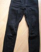 KAPPAHL czarne jeansy wyższy stan
