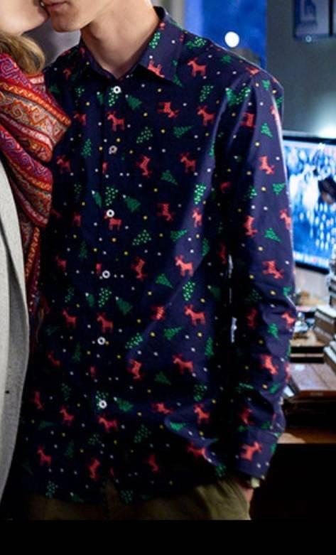 Koszula męska świąteczna...