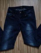 Rurki jeans ciemne spodnie house 36 S