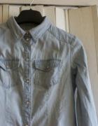 koszula jeansowa rozmiar xs