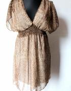 Tunika sukienka w centki r M