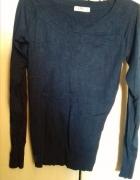granatowy sweter 36