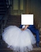 Zjawiskowa suknia ślubna princessa księżniczka piękna tanio