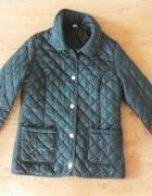 Zielona pikowana kurtka F&F rozmiar S 36