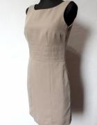 Elegancka sukienka biurowa r SM
