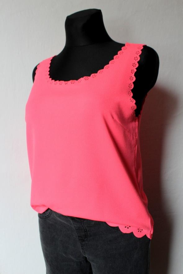 Bluzki Neonowa bluzka bez rękawów r XL