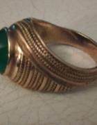 złoty rusek z zielonym okiem