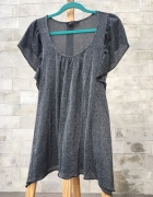 Dorothy Perkins koszulka w sam raz na wyjście błyszcząca elegan...