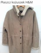 Kozuch płaszcz H&M...