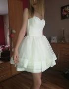 Sukienka Lou Biała studniówka sylwester