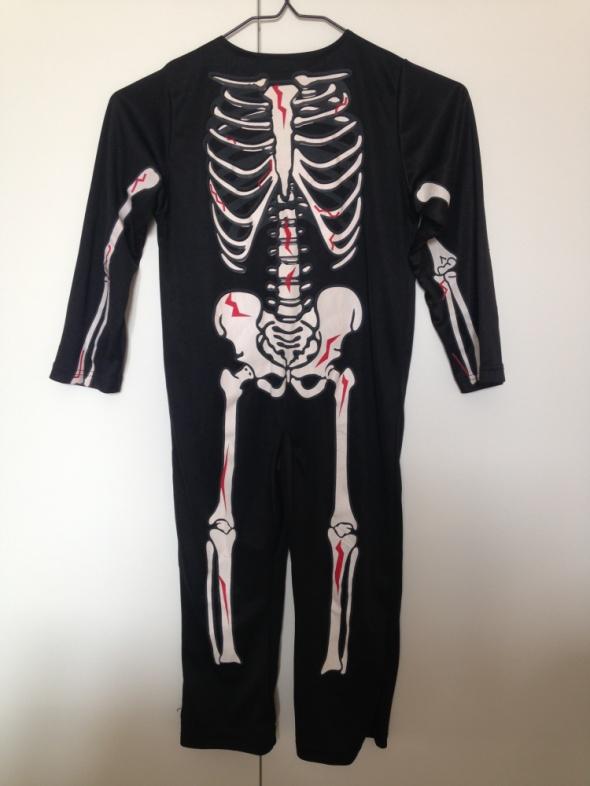 kostium przebranie szkieleta r 110 116