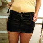 spodniczka czarna mini