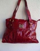 VERSACE oryginał piękna czerwona torebka w idealnym stanie...
