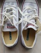 Białe buty converse nowe...