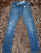 spodnie dzinsy stradivarius 38