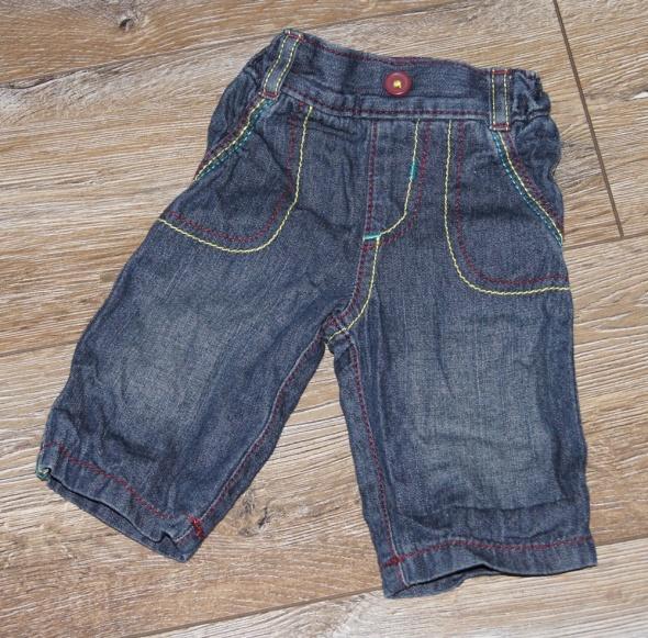 Spodnie niemowlę chłopiec jeansy