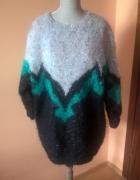 Ręcznie robiony wyjątkowy sweter