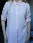 Pudrowa koszula mgiełka s m primark