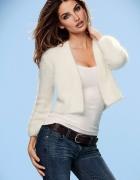 sweter biały kremowy narzutka 36...