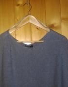 Długa sukienka dzianinowa sweterek szara Reserved M 38 oversize...