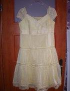 Żółta letnia sukienka