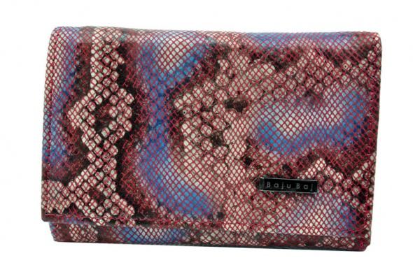 b57fcf62428f Portfel damski skórzany BajuBaj motyle mozaika w Portfele - Szafa.pl