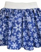 Nowa Spódnica dziewczęca damska bożonarodzeniowa r
