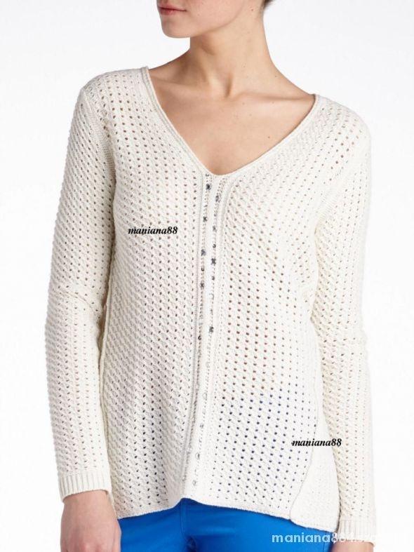 Sweter Ażurowy Reserved Z srebrą nitką...