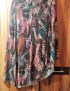 spódnica asymetryczna pióra 16