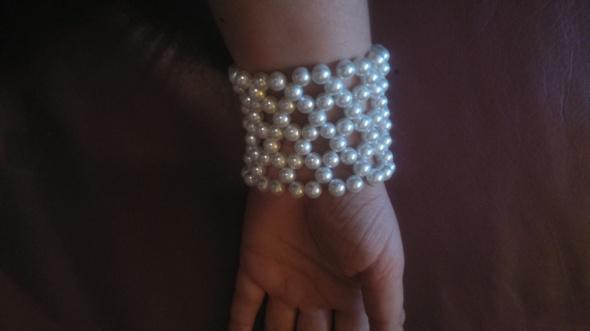 BRANSOLETA Luxusowa Perły