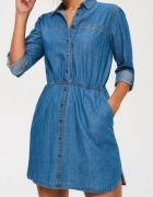 Sinsay Jeansowa sukienka M