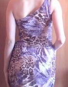 Nowa extra sukienka na jedno ramię