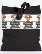 Psy torba siatka ręcznie szyta