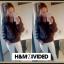 XL H&M DIVIDED Kurtka Zimowa Ciepła Bawełna