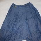 Jeansowa Midi A line Skirt Reserved 38