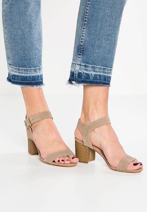 Sandały Sandałki skórzane New Look